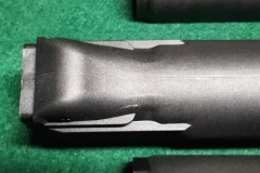 This is the Arsenal US lower. Note how the rear bulge is more rounded on the corners than the Izhmash lower.