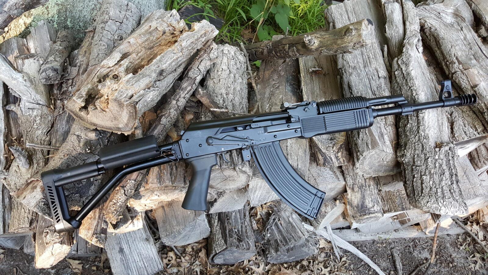 Finally Got A Russian Vepr 7 62x39mm Side Folder The Fm