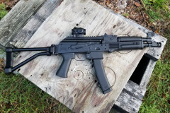 PSA AK-V Operating Side - Brace Extended