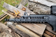 Good view of the RS Regulate GAR-9M-N handguard