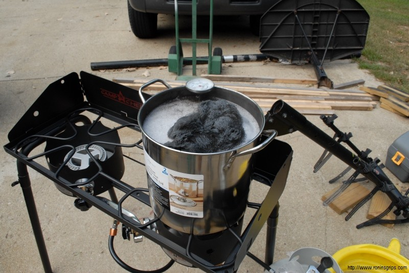 As You Can See I Use A Camp Stove For The First Couple Of Years Just Used Coleman But That Was Always Balancing Act With My 48 Long